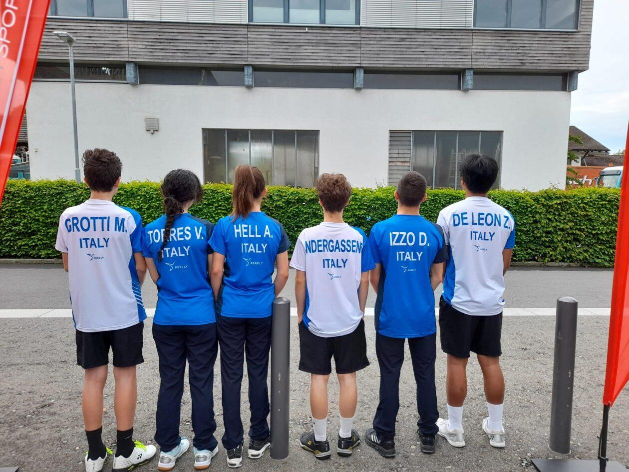 Gli azzurrini Under 15 in Austria