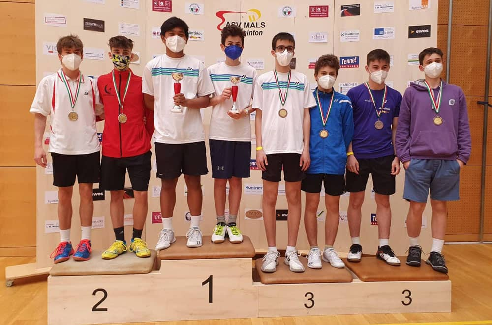 I portacolori Modena Badminton in evidenza a Bolzano e Roma