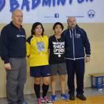 Badminton Classifiche Doppio F9 - 2 marzo 2014